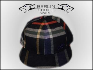 Nike 6.0 Plaid Flannel Fitted Hat Cap Gr. 57   60