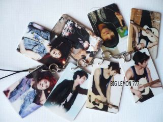 JONGHYUN ~ SHINEE Mobile /Cell Phone Strap Keychain Keyring N7