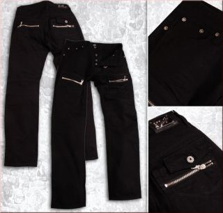 Coole Black Style Männer Jeans Herren Jeans vom Label BT Jeans