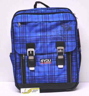 Schulrucksack 4YOU 1143 Classic Plus 709 Master Peace Wolfgang Anders