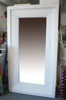 Spiegel antik weiss shabby chic XXL Impressionen #L