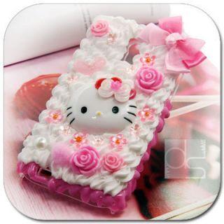 Hello Kitty Cream Skin Case Sprint Samsung Epic Touch 4G D710 Galaxy S