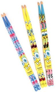 Spongebob Squarepants Drum Sticks   CHOICE OF COLOURS