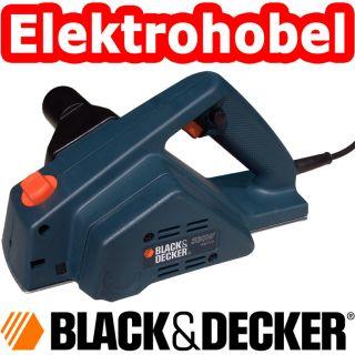 BLACK&DECKER KW 710 ELEKTROHOBEL HOBELMASCHINE EINHAND HOBEL NEU/OVP