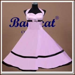 C707 50er Jahre Tanzkleid Vintage Mode Petticoat Rockabilly Party