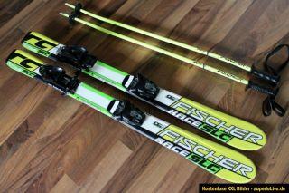 Fischer Race RC4 SLC Kinderski Ski Carvingski 100cm + Fischer FJ4