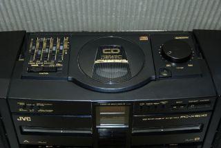 Ghettoblaster Boombox JVC PC X500. Sehr selten!