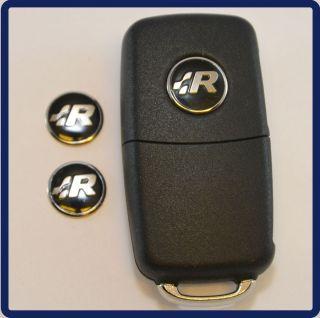 VW RLine Emblem Logo Schlüssel R Line VW Golf 4 5 6 Polo 9N 9N3 GTI