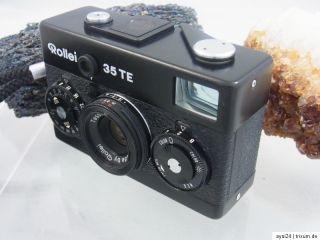 Rollei 35 TE 35mm Tessar 3,5/40 Kompaktkamera mit Tasche