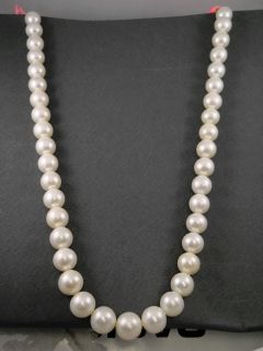 UNA COLLANA VERE PERLE COLTIVATE 11,5/13mm 44/45cm PEARL NECKLACE