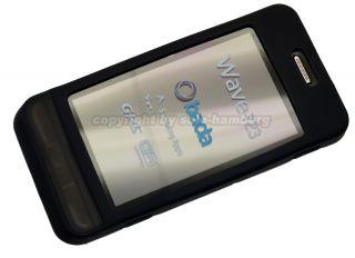Samsung S7230 Wave   Silikon Skin Case Cover Bag Hülle