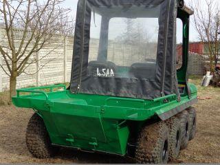 CUSHMAN 8X8 ALLRAD AMPHIBIEN (ARGOCAT ARGO 6X6 4X4 QUAD ATV POLARIS