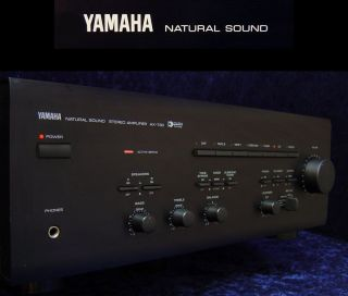 Verstaerker YAMAHA AX 730 Natural Sound High Power Amplifier HiFi