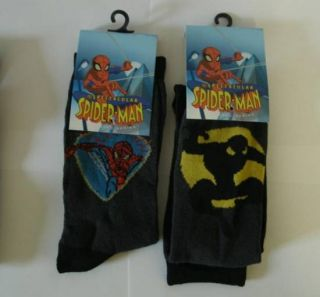 Paar Spiderman SPIDER MAN Socken Strümpfe Kinderstrümpfe Farbe