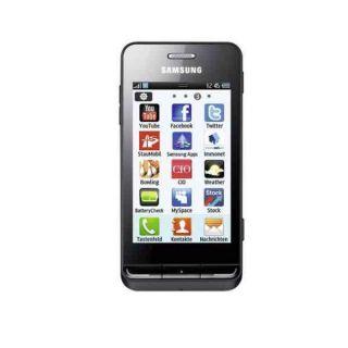 Samsung GT S7230 Wave 723 black schwarz BADA NEU & OVP