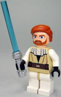 LEGO Star Wars Figur Obi Wan Kenobi (Clone Wars, Bausatz 7676