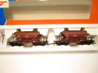 Roco 44128 Schotterwagen Güterwagen Set Wuppertal DB EP 3 KKK OVP NEU