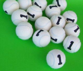 30 Slow Tennisbälle ONE für play&stay stage 1 drucklos