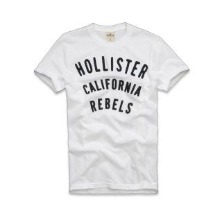 HCO Hollister Herren T Shirt Tee El Matador Weiss Größe S M L XL NEU
