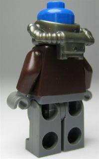 LEGO Star Wars Figur Cad Bane, OHNE Hut, 2 Blaster (aus dem Bausatz