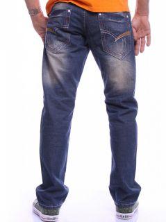 Riwalry Jeans Herren/Men Slim Denim Used Look W29 W36