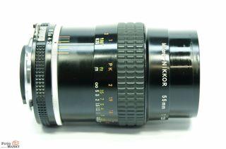 Nikon AI S 55mm 12.8 Micro Nikkor Macro Objektiv Lens Nikon Ai