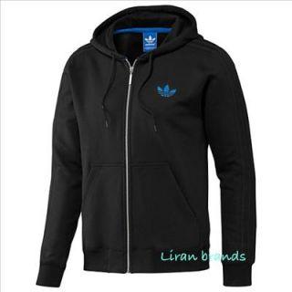 Adidas Originals Hoodie Pullover Sweatshirt Herren Hoody NEU Schwarz