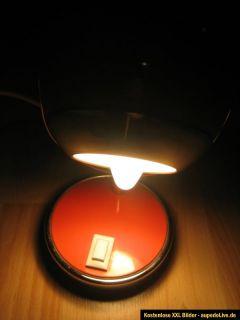 Orange 70er Jahre Kult Lampe Kugellampe Panton Ära