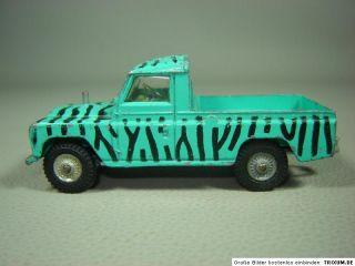 Land Rover 109 WB Daktari Corgi Toys 143 Modellauto Oldtimer