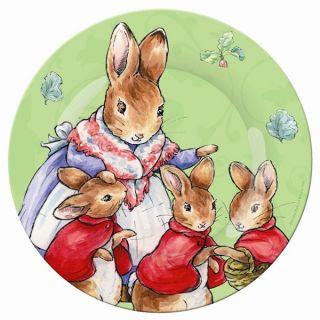PETIT JOUR PARIS Peter Rabbit Hase Melaminteller Kinderteller Teller