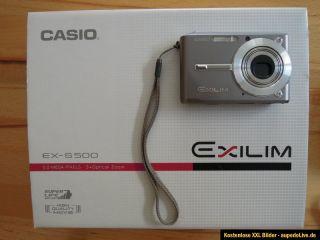 Casio EXILIM CARD EX S500 5.0 MP Digitalkamera   Grau