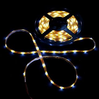 Waterproof SMD 3528 Epoxy LED Strip Light 150LED 5M 12V White For