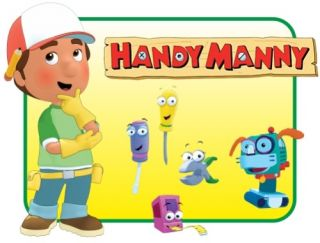 WANDTATTOO WANDSTICKER TATTOO HANDY MANNY GIGANT 1X1