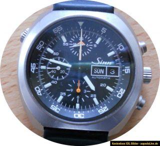 Sinn 142St Weltzeitchronograph Lemania 5100 Space Chronograph