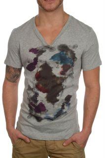 HUGO BOSS Orange V   Shirt Herren T Shirt NEU&OVP TOP Grau Gr. S M L