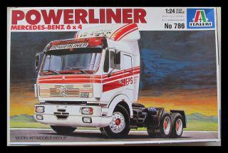Italeri 752 1:24 Volvo Globetrotter Long Range Truck