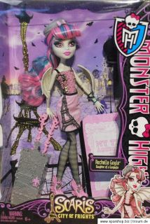 Monster High Scaris Y7655 Clawdeen Rochelle Frankie Stein Skelita