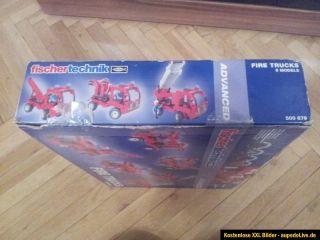 fischertechnik fire trucks 500879 Neu