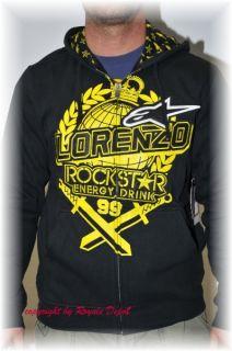 Alpinestars Fast Hoody Sweat Shirt Lorenzo black schwarz m l xl xxl