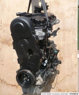 VW 1,9 TDI Motor _ ASZ _ Sharan Audi A3 Golf 4 Bora 130PS Ohne