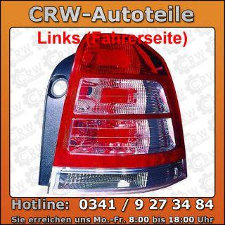 Rückleuchte Heckleuchte links Opel Zafira 07