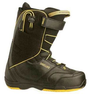 DEELUXE Alpha SCL Snowboard Boot black yellow *NEU*