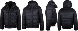 star Raw Jacke schwarz black Glanz NEU Gr. S M L XL XXL 82550 4420