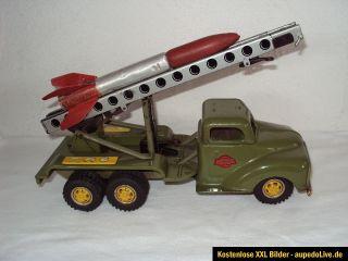 GAMA Raketen LKW Opel Blitz mit Rakete Ansehen