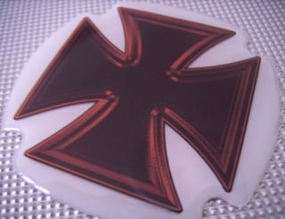 DUB Iron Cross Doming Sticker Aufkleber decal Eisernes Malteser Kreuz