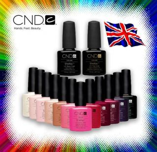 CND Creative Shellac Nail Gel   Choose from 32 Shades