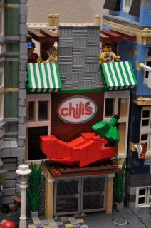 LEGO City Custom Restaurant 10185 Grill