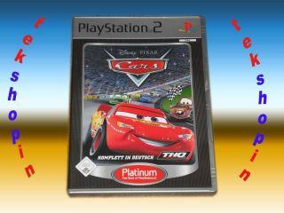 PS2   Disney Pixar Cars ** Playstation 2 Kinder Spiel