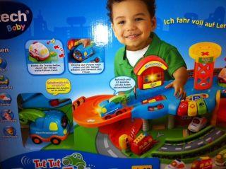 VTech Tut Tut Baby Flitzer   Garage, Rennbahn mit Sound TOP!!!
