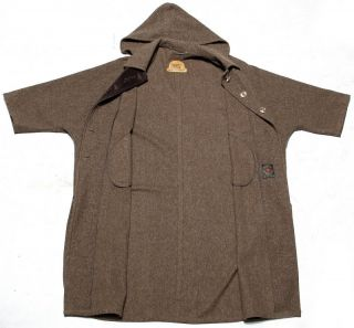 Schurwolle Tiroler Loden Wollmantel Cape coat wool Trachten Vintage
